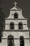 3 misja sepiowa kościoła Zdjęcia Royalty Free