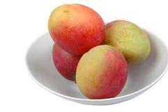 3 miski mango cały fotografia royalty free