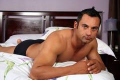3 model sexigt för manlig Fotografering för Bildbyråer