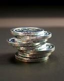 3 monety Zdjęcia Royalty Free