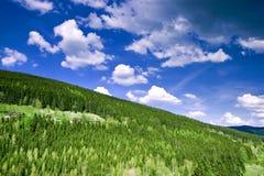 3 montagnes géantes Image libre de droits