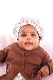 3 Month Old Little Baby Girl Portrait Royalty Free Stock Image