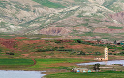 3 moroccan wioska zdjęcia royalty free