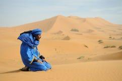 3 morrocan的沙漠 免版税库存照片