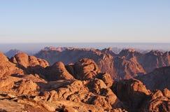 3 moses berg Arkivfoto