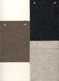 3 muestras del fieltro para el fondo Imagen de archivo