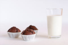 3 muffins Stock Photo