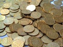 3 mynt royaltyfri bild