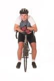 3 na rowerze Zdjęcie Stock