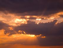 3 niebo Obraz Royalty Free