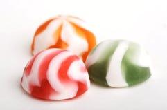 3 no dulces del chocolate Foto de archivo libre de regalías