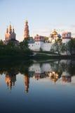 3 novodevichy的女修道院 免版税图库摄影