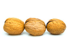 3 nuts Stock Photo