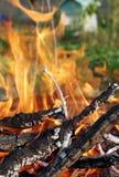 3 ogień Zdjęcia Royalty Free