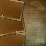 3 Old paper frame Royalty Free Stock Image