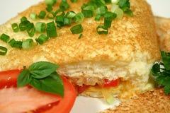 3 omlet Obrazy Royalty Free