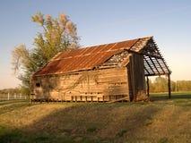 3 opuszczonej stodole Obraz Royalty Free