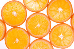 3 oranges neuves Photographie stock libre de droits