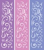 3 ornamental backgrounds Stock Image