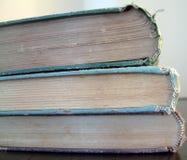 3 oude boeken royalty-vrije stock afbeeldingen