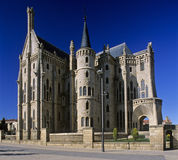 3 pałacu biskupa Astorga s Fotografia Royalty Free