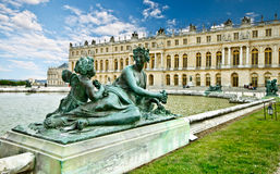 3 pałac Versailles Obrazy Royalty Free
