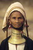 3 padaung plemię Fotografia Royalty Free