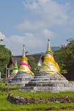 3 Pagodas Стоковое Изображение