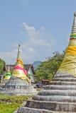3 Pagodas Стоковое Изображение RF
