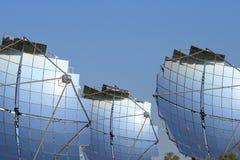 3 painéis solares Fotografia de Stock