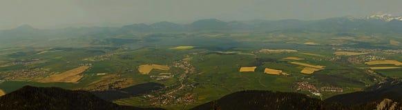 3 panoramatic widok Fotografia Stock