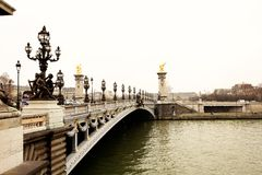 3 paris Royaltyfri Fotografi