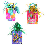 3 party or gift bags Royalty Free Stock Photo