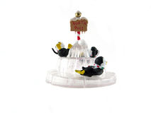 3 penguins Christmas ornament Royalty Free Stock Photography