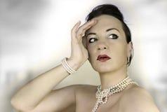 3 perls 免版税库存图片