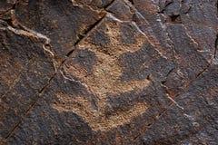 3 petroglif 免版税库存图片
