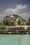 3 piękne domy serii zdjęcie royalty free