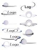 3 piłek logo Zdjęcia Royalty Free
