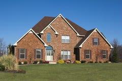 a 3 piękne domy serii Zdjęcia Royalty Free