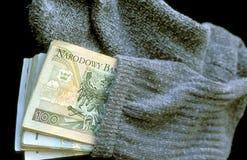 3 pieniądze Obraz Stock