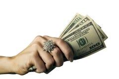 3 pieniądze Zdjęcia Royalty Free