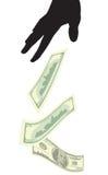3 pieniądze Obraz Royalty Free