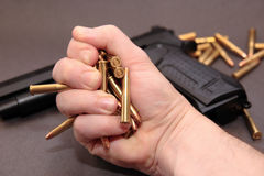 3 pistoletów handel Obrazy Royalty Free