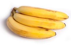 3 plátanos Imagen de archivo libre de regalías