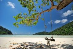 3 plaża Zdjęcia Royalty Free