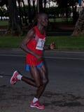 3. Platz des Honolulu-Marathons Lizenzfreies Stockbild