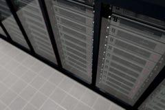 3 pokojów serwer Fotografia Stock