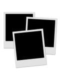 3 polaroids Fotografie Stock Libere da Diritti