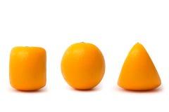 3 pomarańcze Zdjęcie Royalty Free