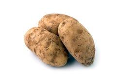 3 pommes de terre Image libre de droits